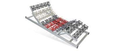 Tellerlattenrost Cirro Modul EKFV - 200 x 200 cm (2x100x200)