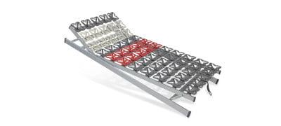 Tellerlattenrost Cirro Modul KFV - 100 x 190 cm